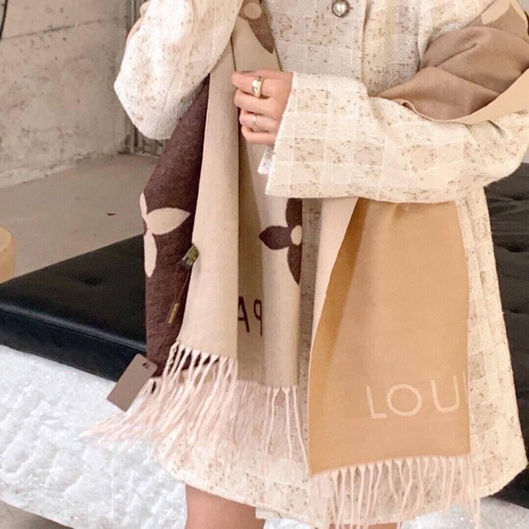 L家漸層羊絨圍巾  (YOKO)